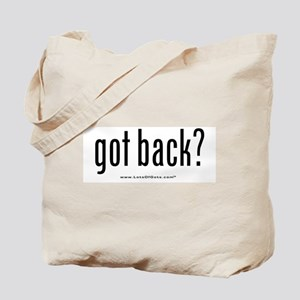 got back? Tote Bag